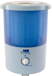 Countertop portable spin dryer